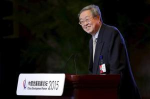 Zhou delivers a speech in Beijing